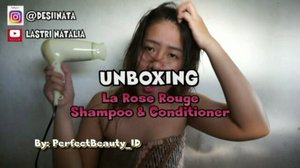 Unboxing LA Rose Rouge Shampoo & Conditioner for Damage Hair. ------------------------------------------------------------------------------------------------------------ Klik Youtube ( http://bit.ly/desiinataUnBoxingLARose ) atau Klik link yg Bio ya GAESSS !!!! Solusi cewe2 yg sering Ngeluh masalah rambut rontokk, kering,pecah2, dan kusam. Kl mau tauu klik dlu yaa gaess Cc Thanks @perfectbeauty_id #Clozetteid #damagehair #shampoo #conditioner