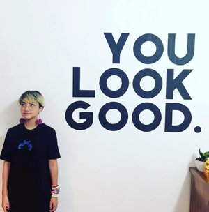 Yes. You are. Be you, do good and enjoy! . . #stylieandfoodie #livelovelifelaughlust #blogger #bloggerceria #tetapsemangat #365post2018 #ootd #clozetteid #stylie #therealoutfitgram #styledaily #dailystyles #streetstyle #realoutfitgram #thestreetograph #looksootd