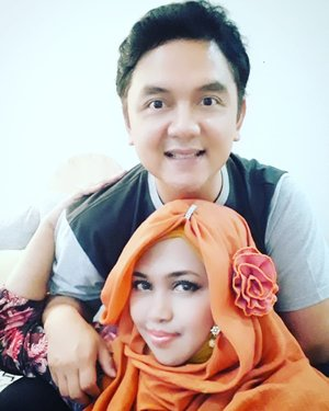 Sun, May 27th, 2018--- Bubu & Pupu .... 😍💖 #Bukber#Ramadhan1439H #familygathering--------------------#clozetteid#nhkkawaii #modestfashion #modestwear #hootd#kawaiicouple