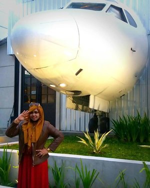"Friday, October 28th, 2016 ---- ""Captain Hesti Nurhayati as #CoPilot ready to fly to anywhere and anytime with the #Pilot of this #Love #Jetplane 😉😄😜 .... Let's fly away, Darlink! No worry we are match from heaven , you are #TheCaptain and I will trust you. Always beside you 😉✈❤ #azeeeeekk . #thecaptainurbanlounge @thecaptainjogja #thecaptainmoment #aeroplane #clozetteID #hootd #fashion #style #American #retrostyle"