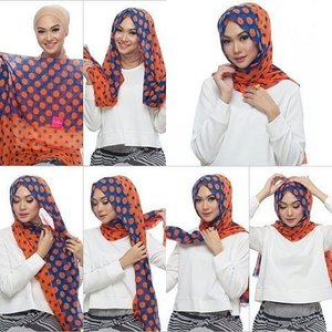 modern n simple everyday hijab tutorial