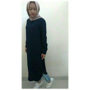 #ClozetteId #ootdanty #myhijabstyle #love #tunic #hotd #instame #look #fashion #style #casual #instalike #instapic #photooftheday #hijaber