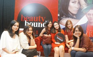 Hii lovely 💕💕 Yesterday Event! With @beautyboundasia Wish us Luck👀💋 #beautyboundasia #skii #clozetter #clozetteid #itsanatte #vlogger #youtuber
