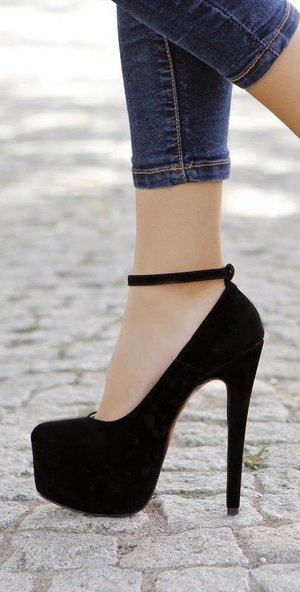 You must have this item. Black Stilettos.