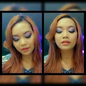 [#purbasaricolormatte #colormatteoftheday] Yes! Eye & Lips Color combo hari ini adalah adalah Cool Blue-Pinky Tone Eyes + Bright Nude Peachy Lips.. Look ini cocok banget buat night club makeup dengan kadar yang lebih pigmented!! Tapi buat kalian yg suka natural look juga bisa banget pake look ini dengan pigmentasi yg lebih soft.. I'm using Purbasari 90-Crystal!! This is one of the color in Nude Family - Judith - 20 - Jakarta - judithcholya17@gmail.com . . Yuk girls ikutan giveawaynya @purbasarimakeupid @purbasari_indonesia @cindyartha @akpertiwi @arianirosidi #clozetteid #makeup #beauty #selfie