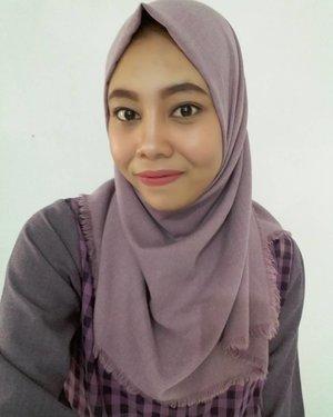 Thanks @mineralbotanica buat precision eyeliner pen nya 😊😙 #clozetteid #ootd #beauty #fashion #makeup #hijab #lifestyle