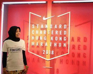 Let's say goodbye to Standard Chartered Hongkong Marathon 2018, it's time to face Tokyo Marathon 2018 . Be ready 🏃....#Runner#Runners#WomenRunning#WomenRun#HijabiRunner #HongkongMarathon#HKMarathon#HongkongMarathon2018#TokyoMarathon#TokyoMarathon2018#Nike#Nikestore#Clozetteid#Blogger#Bloggerstyle#Bloggerlife#BloggerPerempuan#BloggerPalembang#Bloggerswanted