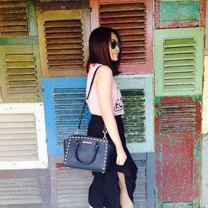 What I wear today 😍 #vscocam #vsco #ootd #ootdindo #lookbook #lookbookindonesia #ClozetteID