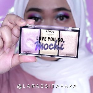 Rainbow eyes🌈 Using @nyxcosmetics_indonesia #LoveYouSoMochi . Super love with their packaging😍 they're squishy like mochi & easy to blend with my finger or brush💕 ..For those who lived in Bali & Bandung, you can get NYX Products at @bonheurid ☺️#bonheurxNYXCosmeticsID#BonheurID#somochisatisfying#nyxcosmeticsid#indobeautygram @indobeautygram #ClozetteID #tampilcantik @tampilcantik #tampilcantik #ivgbeauty  @preciouseventplanner_