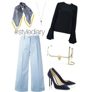 Sunday is Navy Day?  #clozetteid #polyvoreoutfits #polyvore #hijabinspiration #hijabstyle #hijabfashion #stylediary