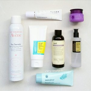 AM skincare routine ☀💆 💫COSRX Low pH Good Morning Gel Cleanser 💫Avene Thermal Spring Water 💫Klairs Supple Preparation Facial Toner 💫COSRX Advanced Snail 96 Mucin Power Essence 💫Innisfree Bija Trouble Lotion 💫Innisfree Orchid Eye Cream 💫Kicho Ultra Moisturizing Sun Cream SPF 50+ PA+++ . I'm keeping my morning routine simple by using less yet effective products in hydrating my skin under makeup. I've recently purchased the full size of @innisfreeofficial Orchid Eye Cream, having tried their deluxe sample before. I just finished their Green Tea Seed Eye Cream, which was good but as great as the Orchid one in my opinion. Last but not least sun cream, I would never leave home without applying my sun cream even when I was wearing BB Cushion which normally has SPF 50+ in it. I've been loving my @kichomakeup Ultra Moisturizing Sun Cream which is practically the only one I've been using ever since I got it. It doesn't leave white cast as most sunscreens do, neither does it make my face look paler than my neck. Come on...I'm fair enough already, and certainly do not need anything to make me look paler (MAC NC15) 😥  It doesn't make my skin feel greasy after applying but it still gives me the radiant skin look that I love 😍  And it also smells good by the way 😉 . #cosrx #innisfree #klairs #kicho #avene #skincare #beauty #kbeauty #koreanbeauty #koreanskincare #clozetteid #beautyblogger #beautycommunity #loveyourskin #healthyskin #beautifulskin #beautycare #beautyaddict #beautyenthusiast #beautyjunkie #beautylover #haul #skincarehaul #skincareroutine #beautyreview #flatlay #instabeauty #igbeauty #morningroutine #goodmorning