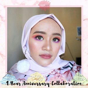 Happy Birthday @beautiesquad 💕 Swipe up for watch the tutorial ✌..#Beautiesquad #BSNovCollab #BSAnnivMakeup #BirthdayMakeup #Beautiesquad1stAnniv #blogger #bloggers #clozette #clozetteid #indonesiabeauty #makeuptutorial #makeupaddict