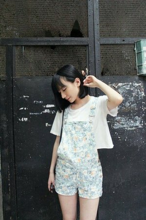 Floral overall