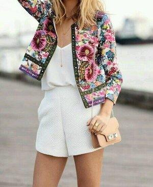 Full embroidery blazer