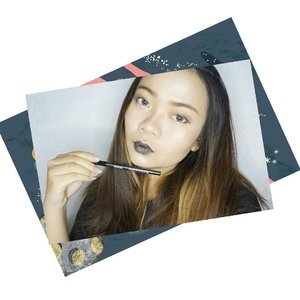 #MakeupForeverSG #BoldLips challenge by @Querramellca 😏😘 . I'm joining because I love bold lipstick! Black, Burgundy, and another fatalé colors which only look great on runaway 😆 #yesnotdailyuse #LOL . My BoldLips look using #MakeupForever Aqua XL Liner in Black Glitter 👾 . Why I using that? Because event half of me love Dark, the other side always win! I only have nude, pastel and pretty pink colors 😂 so hope I have millions luck 💖 .  #ReadyToMouthOff #GOPROMAKEUPChallenge #makeupforeverofficial #mufe #makeup #darklips #festive #glitterlips #glitter #darklipstick #BlackLipstick #Blacklips #motd #lotd #ClozetteID #Lipstick #beautyjunkie #instamakeup