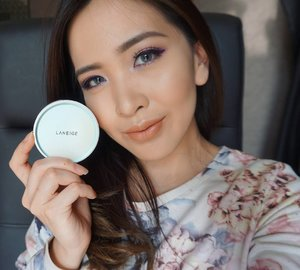 Natural lighting and this @laneigeid Pore Control BB Cushion 💎
