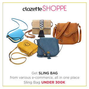 Sling bag is mini, but mighty in style. Shop sling bag UNDER 300K from various ecommerce site at #ClozetteSHOPPE! http://bit.ly/shopslingbags