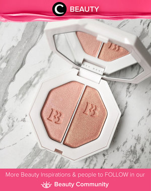 Can we just stop for a moment and adore this pretty thing over here. Fenty beauty Killawatt highlighter. Simak Beauty Updates ala clozetters lainnya hari ini di Beauty Community. Image shared by Star Clozetter @phi. Yuk, share beauty product andalan kamu.