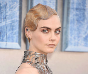 Cara Delevingne wore a see-through metal gown, and our minds are blown