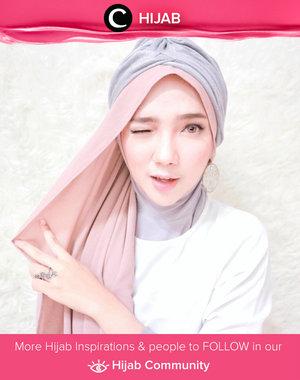 Another way to wear a turban for your daily outfit. Simak inspirasi gaya Hijab dari para Clozetters hari ini di Hijab Community. Image shared by Clozette Ambassador: @ayuindriati. Yuk, share juga gaya hijab andalan kamu