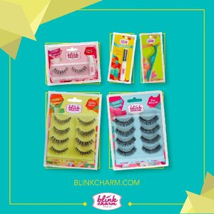 Seneng banget baca-baca respon positif dari Clozetters tentang @blinkcharm di postingan kita sebelumnya.Not only offers excellence quality collection of false #eyelashes, Blink Charm now grew into several other lineups for specific occasions. They later added all the supporting tools such as the eyelashes applicator to make our life easier. Keep an eye on this up-and-coming beauty squad! #blinkcharm #ClozetteID