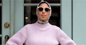 Now THIS Is How a Pro Styles a Hijab For Fashion Week