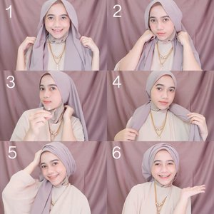 25+ Kreasi Tutorial Hijab Pesta Simple Terbaru 2018 - HijabTuts