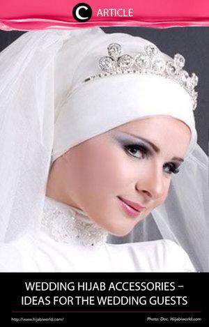 Mau menghadiri pesta pernikahan, tapi bingung untuk pakai aksesoris hijab yang cocok? Yuk, lihat inspirasinya di http://bit.ly/2j8sbeK. Simak juga artikel menarik lainnya di Article Section pada Clozette App.