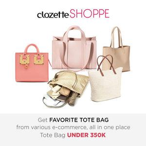 Pilih tote bag untuk tas yang modis dan mampu menampung banyak barang. Belanja tote bag favoritmu DI BAWAH 350K dari berbagai ecommerce site di Indonesia via #ClozetteSHOPPE    http://bit.ly/1sVUdy5