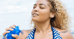 How To Reapply Sunscreen Without Effing Up Your Makeup