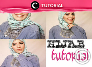 Easy way to get your fave hijab styles  with statement necklaces http://bit.ly/2iJAv7K. Video ini di-share kembali oleh Clozetter: @dintjess. Cek Tutorial Updates lainnya pada Tutorial Section.