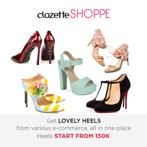 High heels are the ultimate trendsetter when it comes to women's fashion. Shop favorite heels from various ecommerce site STARTS FROM 150K at #ClozetteSHOPPE!  http://bit.ly/prettyheels