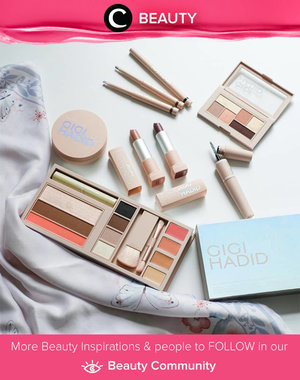 Being addicted to take some flatlay pictures lately. Psst.. have you tried Gigi Hadid edition from Maybelline? Simak Beauty Updates ala clozetters lainnya hari ini di Beauty Community. Image shared by Clozetter: @rhanyachmad. Yuk, share beauty product andalan kamu.