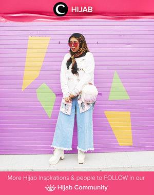 Layering pastel. Styled by Clozetter Rizuna. Simak inspirasi gaya Hijab dari para Clozetters hari ini di Hijab Community. Image shared by Clozetter: @rizunaswon. Yuk, share juga gaya hijab andalan kamu