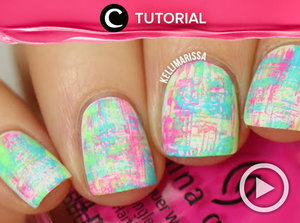 No-Tools Nail Art: Summer Neon Dry Brush Manicure http://bit.ly/2ttvNyV. Video ini di-share kembali oleh Clozetter: @aquagurl. Cek Tutorial Updates lainnya pada Tutorial Section.