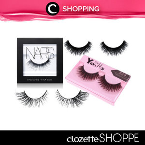If your eyes are the windows into your soul, then your eyelashes are the curtains that dress them. Put fake lashes on your essential beauty 101, Clozetters! Belanja bulu mata palsu favoritmu di #ClozetteSHOPPE!  http://bit.ly/1VvoRZq