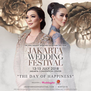 The Day Of Happiness With Jakarta Wedding Festival 2018