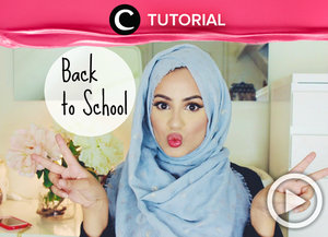 Let's try this Hijab School Style! http://bit.ly/1SmeEh7. Video ini di-share kembali oleh Clozetter: @kyriaa. Cek Tutorial Updates lainnya pada Tutorial Section.