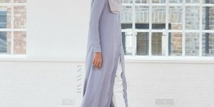 How to Wear Open Cardigan Dress with Hijab Ideas - Girls Hijab Style & Hijab Fashion Ideas