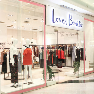 Opening Pop Up Store Love, Bonito At Grand Indonesia