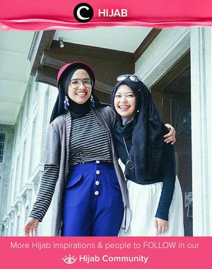 Through all of living have much joy and laughter, life is to be enjoyed, not just endured. Simak inspirasi gaya Hijab dari para Clozetters hari ini di Hijab Community. Image shared by Star Clozetter: @putmaharani. Yuk, share juga gaya hijab andalan kamu