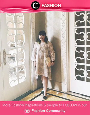 Her gorgoeus outfit blending perfectly with the wall. Simak Fashion Update ala clozetters lainnya hari ini di Fashion Community. Image shared by Clozetter @hiquirkyalice. Yuk, share outfit favorit kamu bersama Clozette.