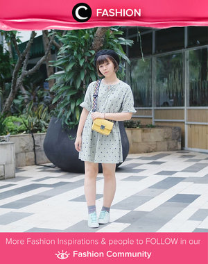 Play with green pastel. The yellow sling bag is on point. Simak Fashion Update ala clozetters lainnya hari ini di Fashion Community. Image shared by Star Clozetter @japobs. Yuk, share outfit favorit kamu bersama Clozette.
