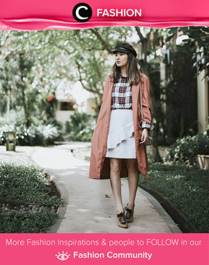 Another inspiration for preppy style. Simak Fashion Update ala clozetters lainnya hari ini di Fashion Community. Image shared by Clozette Ambassador @wulanwu. Yuk, share outfit favorit kamu bersama Clozette.
