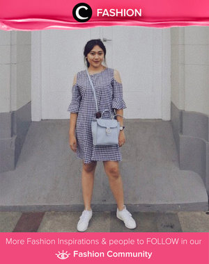Spending this day with gingham dress. Simak Fashion Update ala clozetters lainnya hari ini di Fashion Community. Image shared by Clozetter @revanawerdaningsih. Yuk, share outfit favorit kamu bersama Clozette.