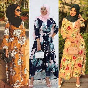 Beautiful Floral Summer Dresses - Shop and Prices - Hijab Fashion Inspiration