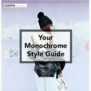Style Guide: Monochrome . Click here for more images: http://bit.ly/1D4ExwM