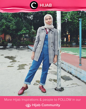 Checker pattern is on game again. It's time to bring it out from the closet. Simak inspirasi gaya Hijab dari para Clozetters hari ini di Hijab Community. Image shared by Star Clozetter @zsazsajasmine. Yuk, share juga gaya hijab andalan kamu