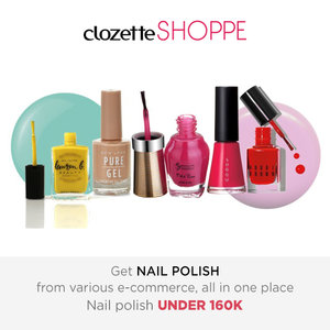 Summer calling! Pimp your nails and choose a bright colors for boost up your mood. Shop your favorite nail polish at #ClozetteSHOPPE! http://bit.ly/1nRPsD2