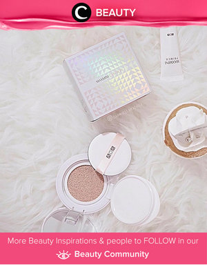 It's a new way to get a glowing makeup! Simak Beauty Updates ala clozetters lainnya hari ini di Beauty Community. Image shared by Clozetter: gabriellamadhea. Yuk, share beauty product andalan kamu bersama Clozette.